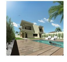 Artist Impression of Villa with Private Pool