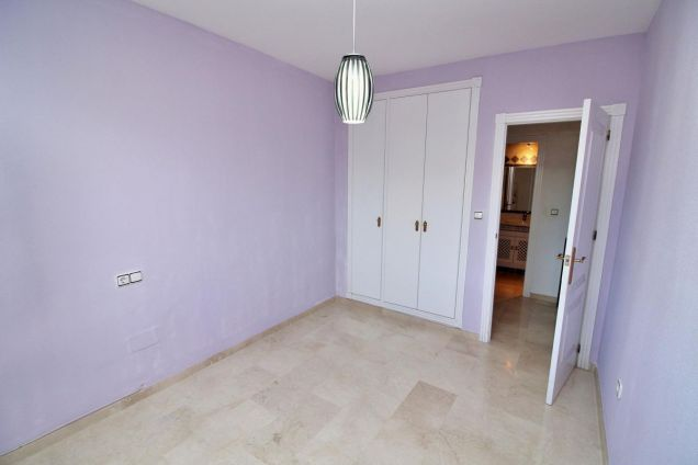 2nd bedroom with fitted wardrobes