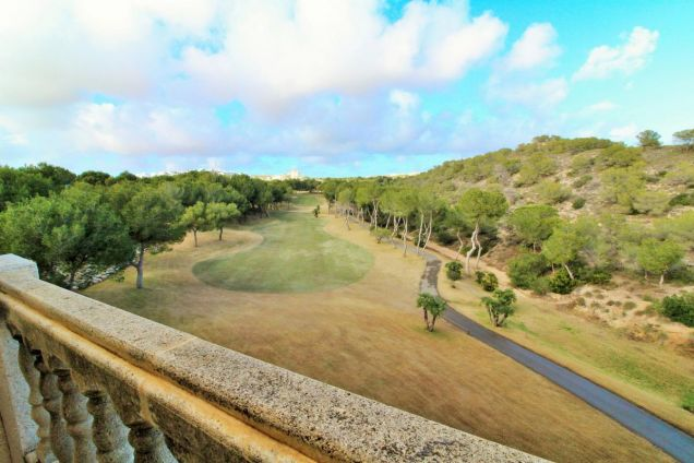 Views of golf from the master bedroom